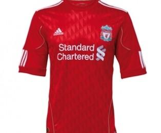 Liverpool Adidas Home Shirt