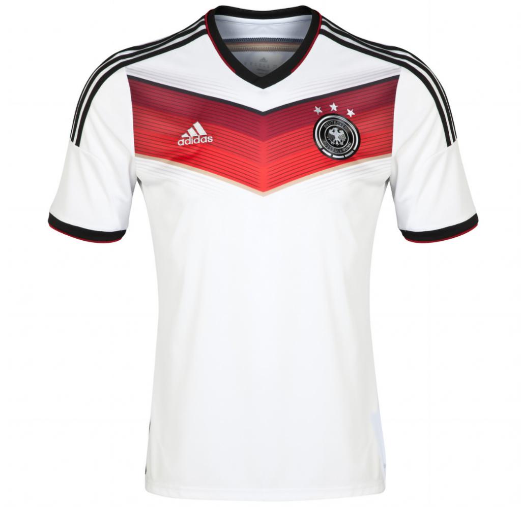Germany Shirt Home 2014