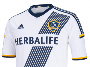LA GALAXY HOME SHIRT 2014 WHITE