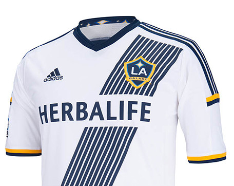 new concept e95af 39306 Home Soccer LA GALAXY HOME SHIRT 2014 WHITE - Home Soccer